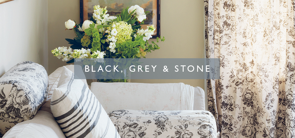 Black, Grey & Stone