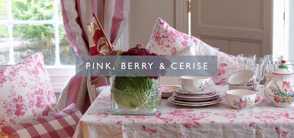 Pink, Berry & Cerise