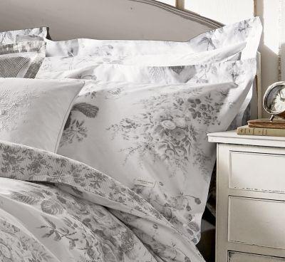 Darcy Grey Oxford Pillowcase Pair