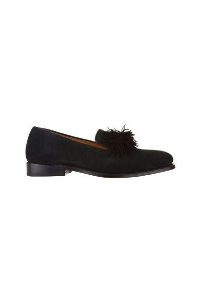 755e76562 Darcey Tassel Loafer in Black | Cabbages & Roses