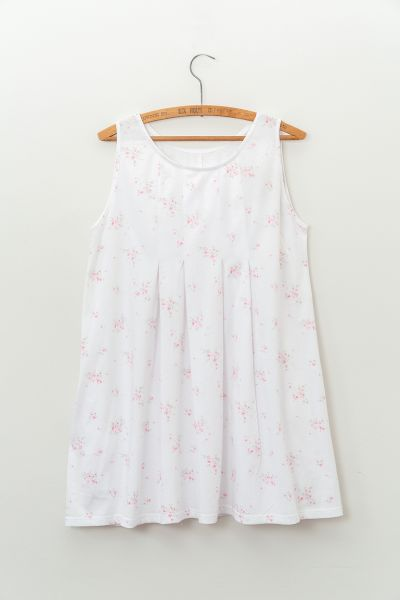 8718b2164c1 Rosemary Smock in Organic Cotton Rosabelle Rachel Ashwell Print | Cabbages  & Roses