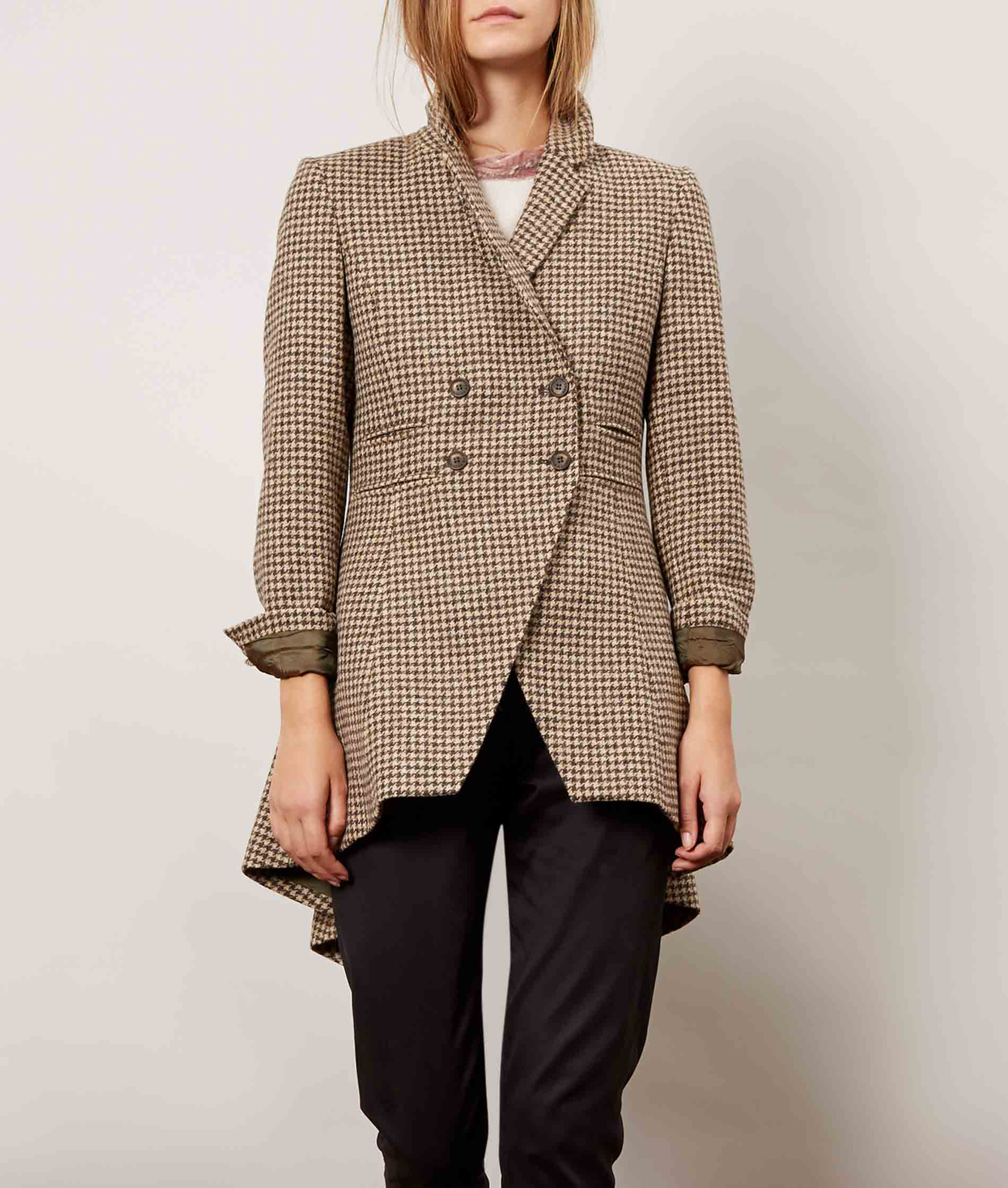 Tweed Flossie Frock Jacket