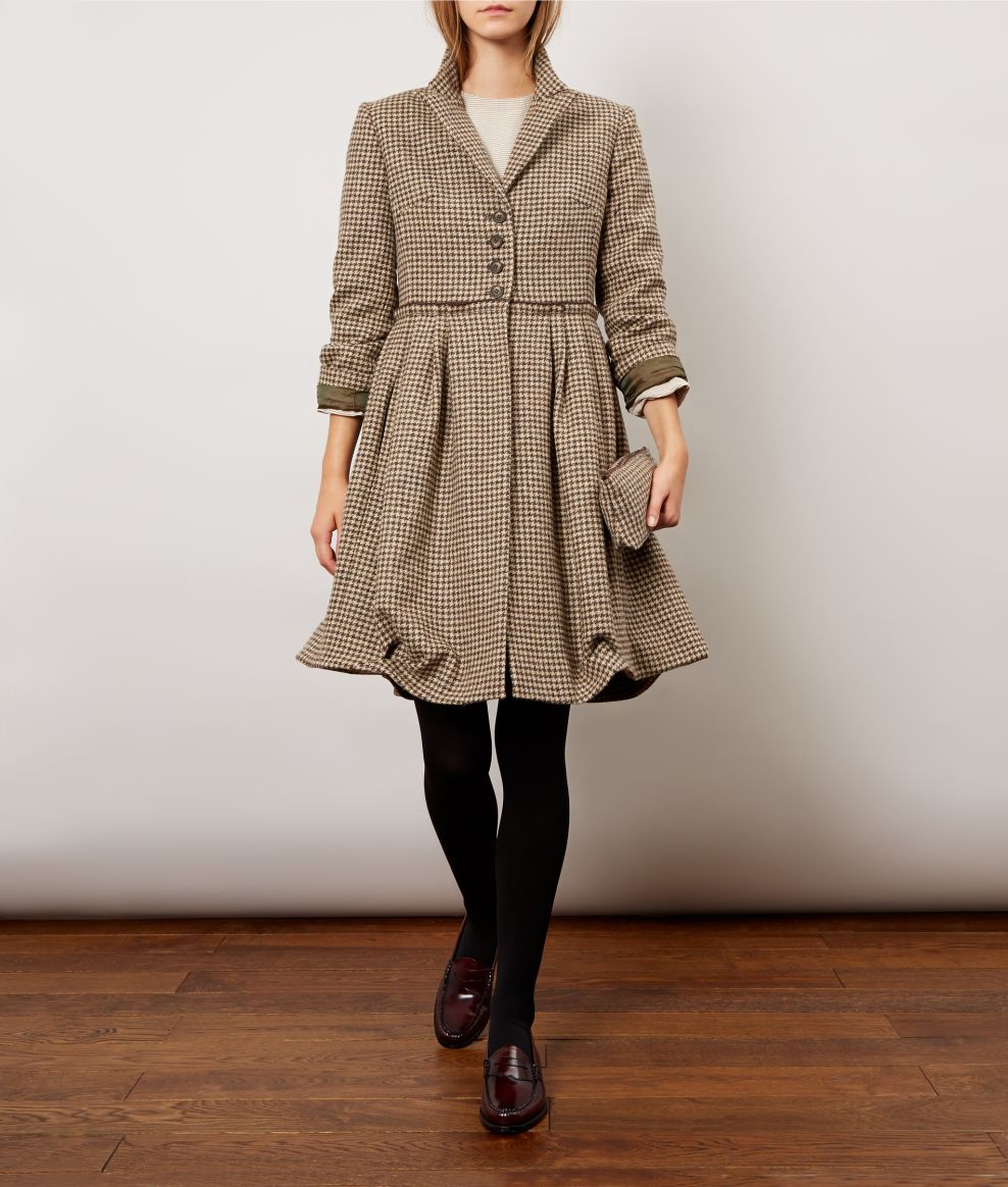 Tweed Marjorie Coat