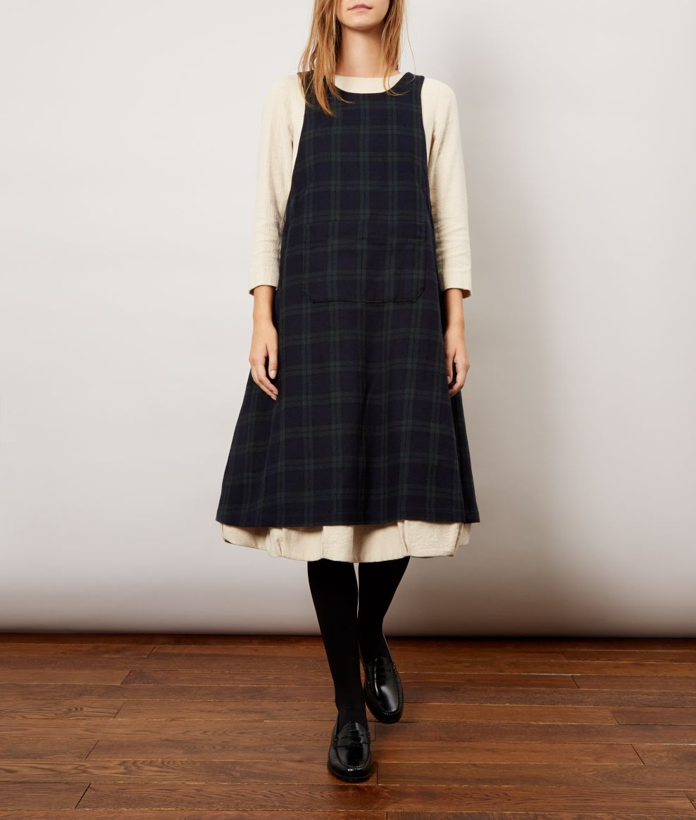 Blackwatch Pini Apron Dress