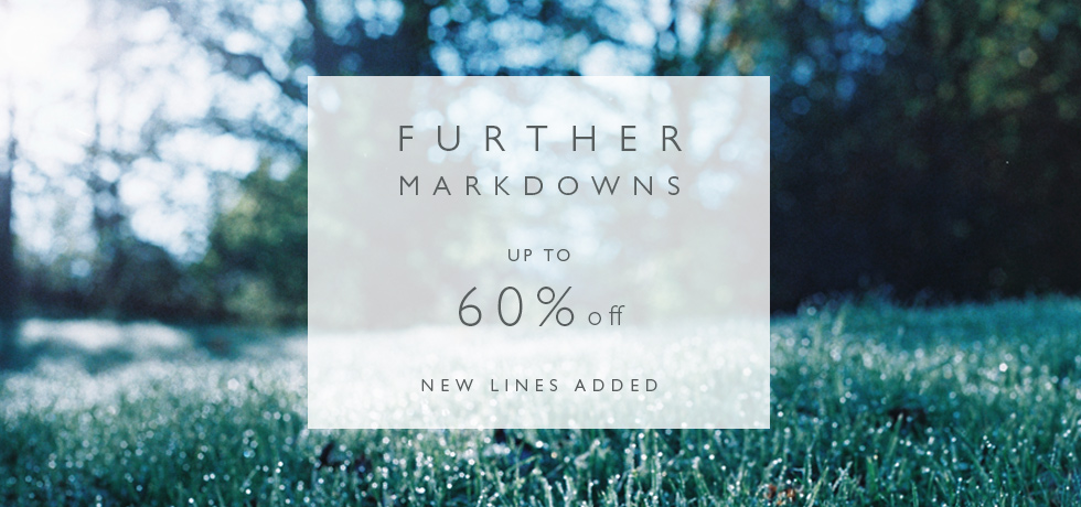 C&R AW16 Further Markdowns