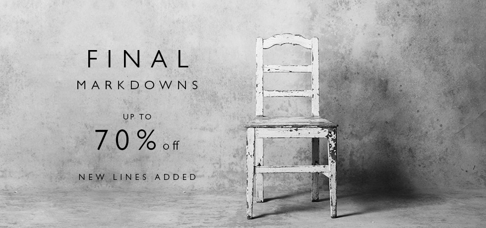 C&R AW16 Final Markdowns