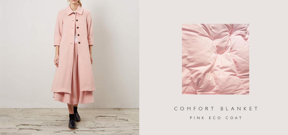 C&R Pink Eco Coat