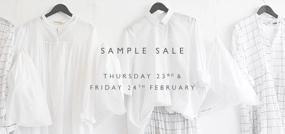 C&R Sample Sale